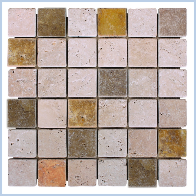 Mix Travertine Tumbled